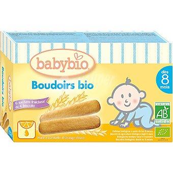 BABYBIO Galletas biológicas a partir de los 8 meses dentición Caja 120 g