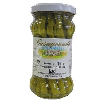 Casagrande Espárragos verdes Frasco 100 g (peso neto escurrido)