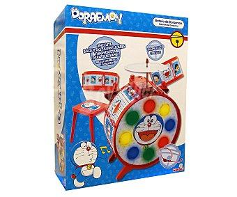 SIMBA Batería Doraemon, con luces, bombo, tambores y platillo 1 Unidad