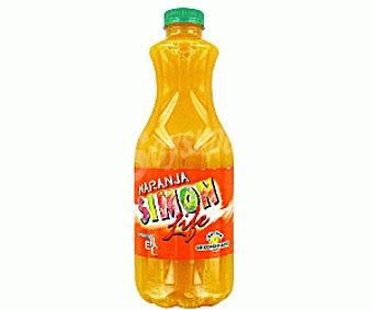 Simon Life Naranja sin gas vitaminada refrigerado Botella 1,5 l