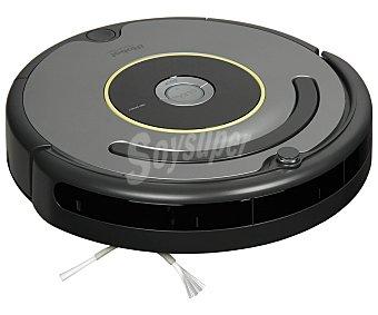 IROBOT ROOMBA 631 Aspirador Robot, sistema de limpieza en 3 etapas, limpieza de esquinas, detección de suciedad, sensor anti-caídas, 1 pared virtual