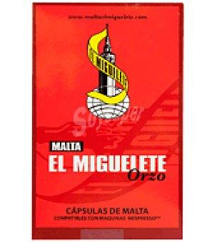 El Miguelete Café de Malta Orzo en cápsulas 10 ud