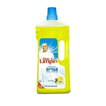 Don Limpio Limpiador multiusos básico aroma limón botella 1.3 lt 3 lt
