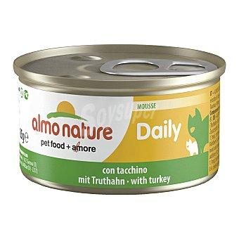 Almo Nature Comida húmeda para gatos adultos Almo Nature Daily mousse con pavo 85 gr 85 gr
