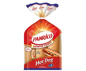 Panrico Pan para perritos Bolsa 330 g (6 uds)