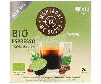 Mepiachi Caf expresso en cápsulas 100% ärabica 16 uds