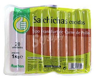 Productos Económicos Alcampo Salchichas Frankfurt 20 unidades