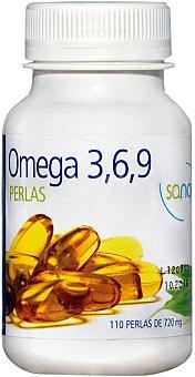 Sanon Complemento alimenticio, Omega 3,6,9 110 Perlas