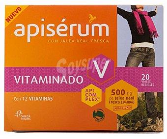 APISERUM Jalea real fresca Vitaminado 20 viales