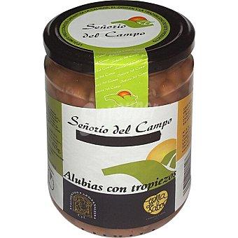 SEÑORIO DEL CAMPO Alubias pintas con chorizo frasco 425 g frasco 425 g