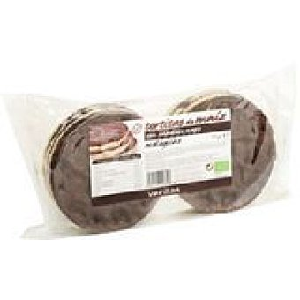 Veritas Tortitas de maíz de chocolate Paquete 95 g