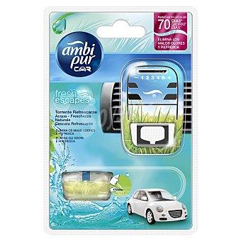 AmbiPur Ambientador coche aroma agua Aprataro + recambio