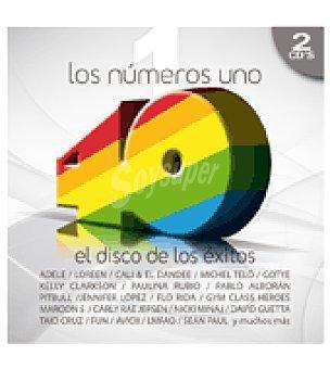 Los Nº1 de los cuarenta principales cd