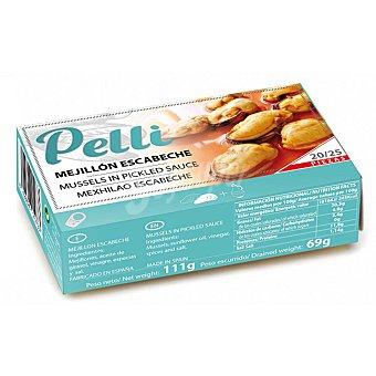 Pelli Mejillones en escabeche Pelli sin lactosa 69 g