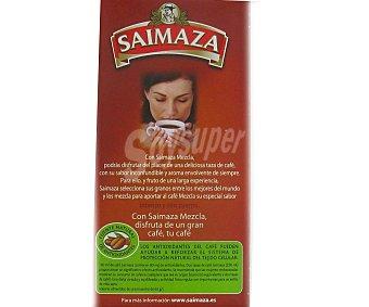 SAIMAZA Café Molido Mezcla 50/50 Superior 250 Gramos