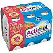 Actimel para beber multifrutas 6 unidades de 100 ml Actimel Danone