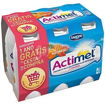 Actimel Danone Actimel para beber multifrutas 6 unidades de 100 ml