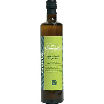 OLIMENDROS Aceite de oliva virgen extra Cuquillo botella 750 ml 750 ml