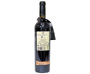 +7 Vino tinto de agricultura ecológica del priorato Botella de 75 centilitros