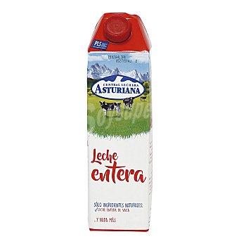 Central Lechera Asturiana Leche Entera Brik 1 litro