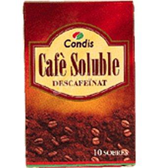 Condis Cafe solub.descaf 10 UNI