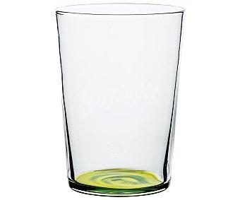 Luminarc Vaso de sidra de 0,53 litros con base de verde manzana, LUMINCARC. 0,53 litros