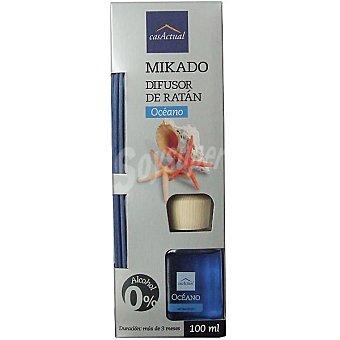CASACTUAL Mikado Ambientador en varillas aromáticas Océano 100 ml