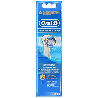 Oral-b Recambio de cepillo dental Precision Clean blister 2 unidades
