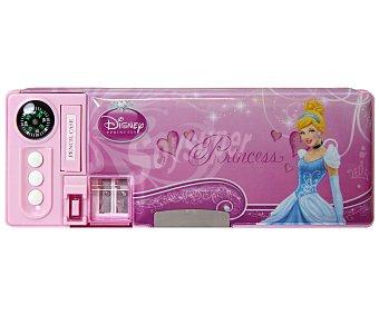 DISNEY Plumier automático Princesas con accesorios 1 Unidad