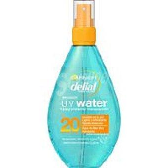 Delial Garnier Spray solar con agua aloe vera FP20 Spray 150 ml