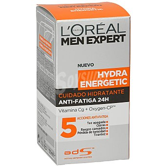 Men Expert L'Oréal Paris Crema hidratante Anti-Fatiga Hydra Energetic 50 ml