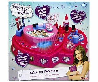 DISNEY Centro de Belleza Salón de Manicura Violetta 1 Unidad