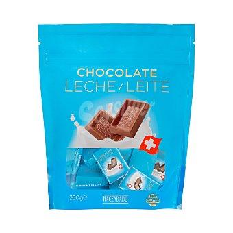 Swiss Chocolate leche porciones Paquete 200 g