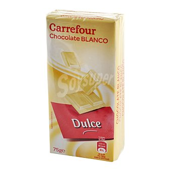 Carrefour Chocolate blanco 225 g