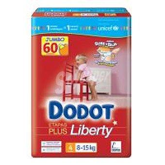 Dodot Panal Dodot Liberty T4 60u Paquete 60 unid