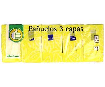 Productos Económicos Alcampo Pañuelos de Celulosa 10x10u
