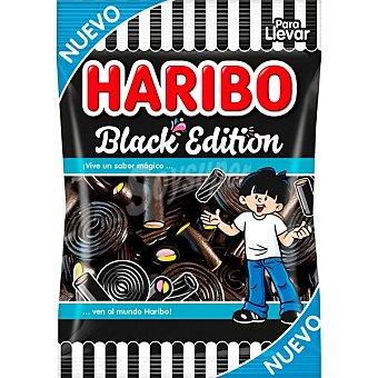 Haribo Black Edition regalices negros surtidos Bolsa 100 g