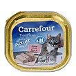 Delicias para gatos de salmón 100 gr Carrefour