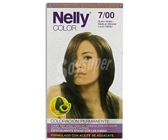 NELLY Color Tinte en crema Rubio Medio Nº 7/00 1 Unidad