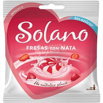 Solano Caramelos de fresa-nata 30 unid