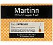 Complemento alimenticio, sin gluten, ni lactosa, para el cuidado del cabello 60 comprimidos Martinn