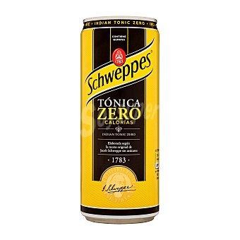 Schweppes Tónica light zero calorías Lata de 33 cl