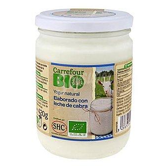Carrefour Bio Yogur natural de leche de cabra 420 g