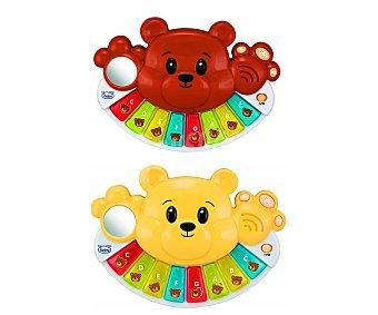 BABY Teclado Musical de Colores con forma de Osito 1 Unidad