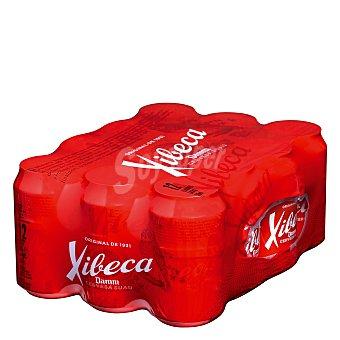 Xibeca Cerveza rubia nacional 12 latas de 33 cl