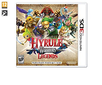 Acción Videojuego Zelda Hyrule Warriors Legends para Nintendo 3 Ds. Género: acción, lucha. Edad: +7 3Ds