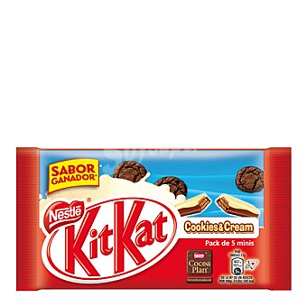 Kit Kat Nestlé Barrita de chocolate con cookies & Cream 104 g
