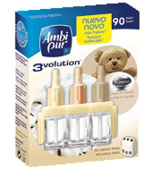 AmbiPur Ambientador 3volution puresse cotton 2 ud