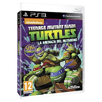 PS3 Videojuego Teenage Mutant Ninja Turtles: La Amenaza Del Mutágeno para PS3