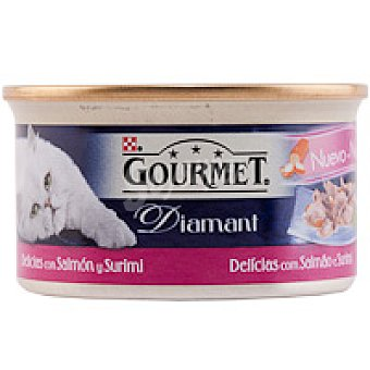 Purina Gourmet Alimento de surimi Diamant Lata 85 g